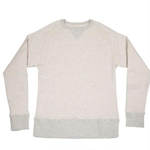 LOOPWHEEL CREW SWEAT -OATMEAL-
