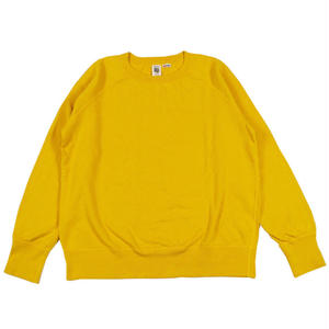 7.5 oz. USA FLEECE RAGLAN SWEAT -YELLOW-