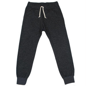 TWEED NEP FLEECE PANTS -CHARCOAL-