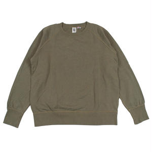 7.5 oz. USA FLEECE RAGLAN SWEAT -OLIVE-