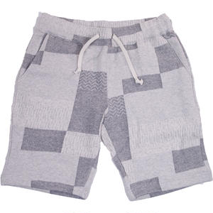MELANGE PATCHWORK SHORTS