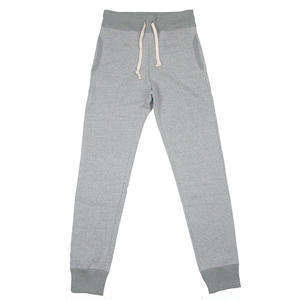 LOOPWHEEL SWEAT PANTS -MIX GRAY-