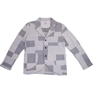 MELANGE PATCHWORK JACKET