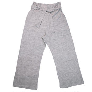 12/- JERSEY EASY PANTS for ladies -MIX GRAY-