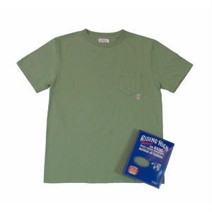 STANDARD PACK COLOR POCKET TEE -ARMY GREEN-