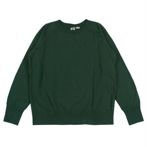 7.5 oz. USA FLEECE RAGLAN SWEAT -GREEN-