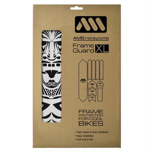 "AMS Honeycomb Frame Guard XL  ""MAORI"""