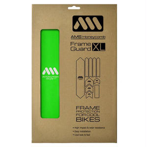 AMS Honeycomb Frame Guard XL. GREEN