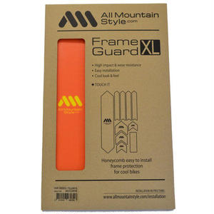 AMS Honeycomb Frame Guard XL. ORANGE
