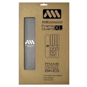 AMS Honeycomb Frame Guard XL. SILVER