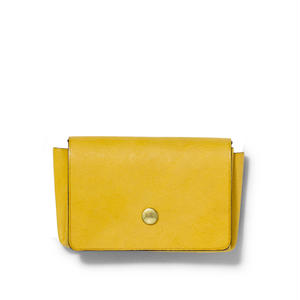 """ ORIGAMI WALLET "" Minimal / Yellow"