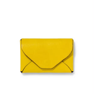 """ LETTER FROM "" Card case S / Yellow"