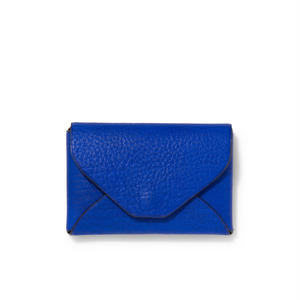 """"""" LETTER FROM """" Card case S / Blue"""