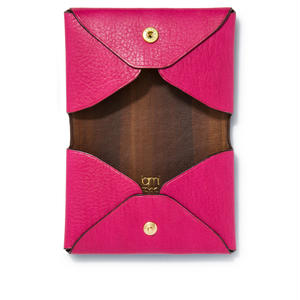 """"""" LETTER FROM """" Card case W / Pink"""