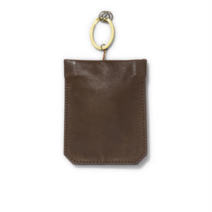 """ PAKARI "" Key case / Dark Brown"