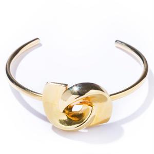 twin bangle / silver,gold