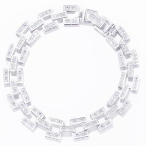 brock bracelet / crystal