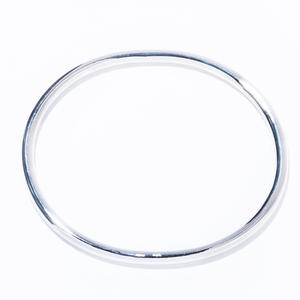 classic oval band silver
