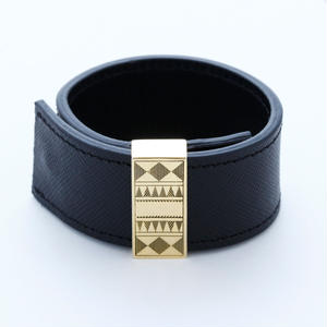arabic leather bangle
