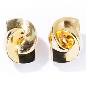 twin earring / silver,gold