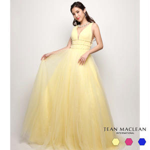 【JEAN MACLEAN】ラメネット/姫Dress【81287】