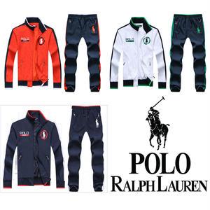 【POLO】高質新品POLO ポロ ラルフローレン セットアップ 3色 [PL-908-877]