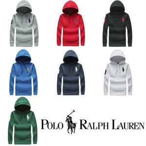 送料無料 人気定番 高品質 Polo Ralph Lauren  ポロラルフローレン 長袖 パーカー レディース 男女兼用 長袖 パーカー 7COLOR [PL-902-929]