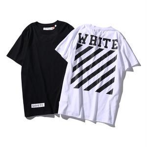 送料無料 [OFF-WHITE オフホワイト] 新作 大人気 セール オシャレ Tシャツ 半袖 人気新品 男女兼可 メンズ レディース