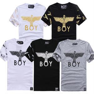 送料無料 新作 人気 半袖 BOY LONDON ボーイロンドン 男女兼用 イラスト おしゃれ プリント Tシャツ メンズ レディース 5カラー