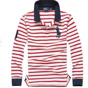 【POLO】高質新品POLOポロ ラルフローレン男性用Tシャツ長袖3色[shop-PL-09]