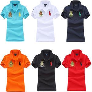 送料無料 人気定番半袖 Polo Ralph Lauren ポロ ラルフローレン 人気 半袖 Tシャツ レディース 6COLOR [PL-902-894]