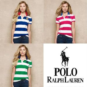 送料無料 人気定番半袖 Polo Ralph Lauren ポロ ラルフローレン 人気 半袖 Tシャツ レディース 3COLOR [PL-902-895]