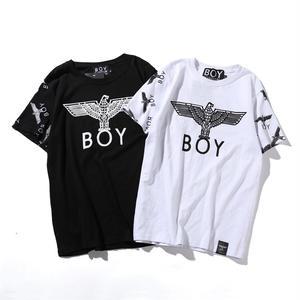 送料無料 新作 人気 半袖 BOY LONDON ボーイロンドン 男女兼用 イラスト おしゃれ プリント Tシャツ メンズ レディース