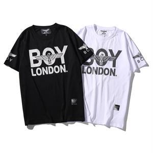 送料無料 新作 人気 半袖 BOY LONDON ボーイロンドン 男女兼用 イラスト おしゃれ プリント Tシャツ メンズ レディース  2カラー
