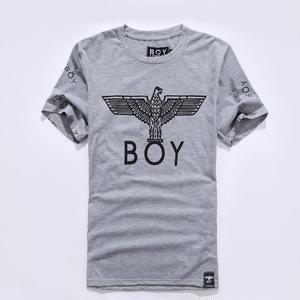 送料無料 新作 人気 半袖 BOY LONDON ボーイロンドン 男女兼用 イラスト おしゃれ プリント Tシャツ メンズ レディース グレー