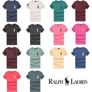 送料無料 期間限定 セール 人気定番半袖 Polo Ralph Lauren ポロ ラルフローレン 人気 半袖 Tシャツ メンズ レディース 22COLOR [PL-902-1]