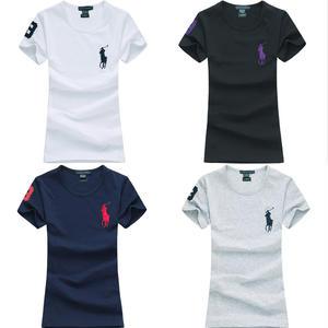 送料無料 人気定番半袖 Polo Ralph Lauren ポロ ラルフローレン 人気 半袖 Tシャツ レディース 4COLOR
