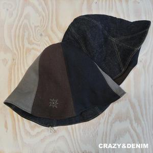"""JAVARA """"TULIP HAT"""" (CRAZY&DENIM)"""