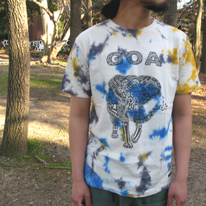 "JAVARA ""GOA"" S/S (GRAY&YELLOW&BLUE)"