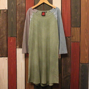 "JAVARA ""RAGLAN DYE"" one piece (green)"