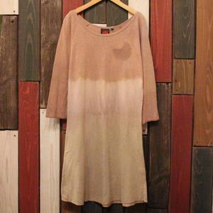 "JAVARA ""小さなツキポケットワンピース"" (brown)"