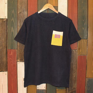 "JAVARA ""MORE BEER PKT"" S/S (BLACK)"