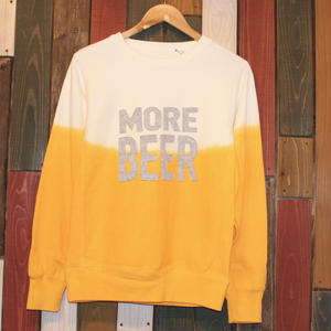 "JAVARA ""MORE BEER"" CREW NECK SWEAT"