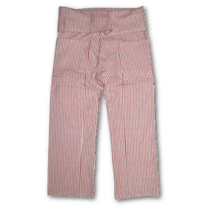"JAVARA ""STRIPE THAI PANTS"" (red)"