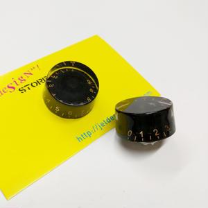スピードノブ・ピンズ (ブラック+ゴールド)