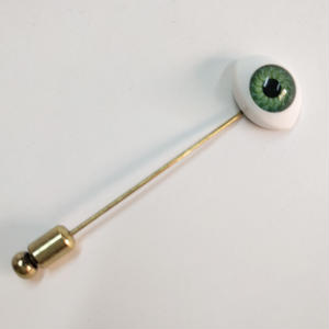 Eye Hatpin (green)