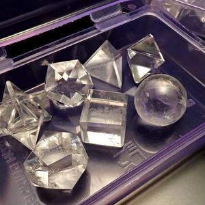 ヒマラヤ産水晶プラトニックソリッド