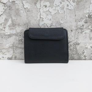 折り畳み財布 レザー ブラック