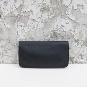 レザー長財布/ブラック