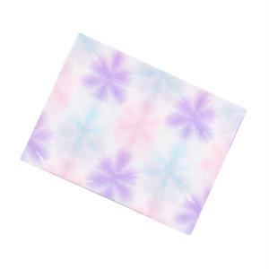 帯揚 / 雪花絞り(ピンク系)